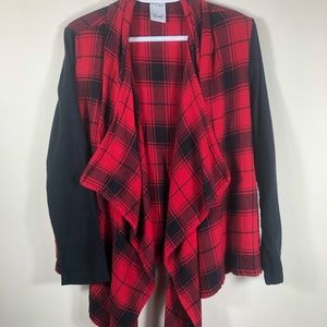 Sweaters - Flowy Flannel Shirt